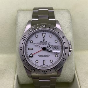 rolex explorer 40mm white dial