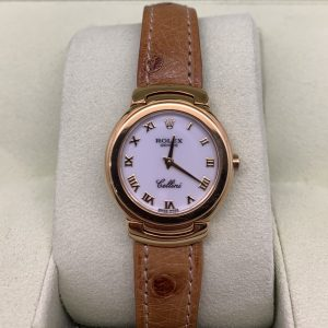 ROLEX CELLINI 26MM LEATHER BAND