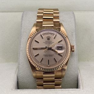 ROLEX DAY-DATE 18KT YELLOW GOLD